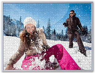 Cadre pour le puzzle photo