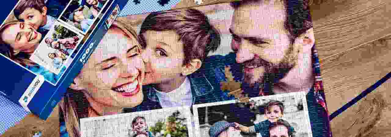 Puzzle Photo pêle-mêle famille