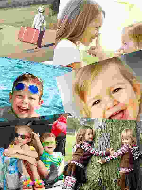 Puzzle Photo pêle-mêle avec Chevauchement 6 Photos
